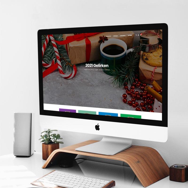 Hi Coffee E-Ticaret Web Sitesi
