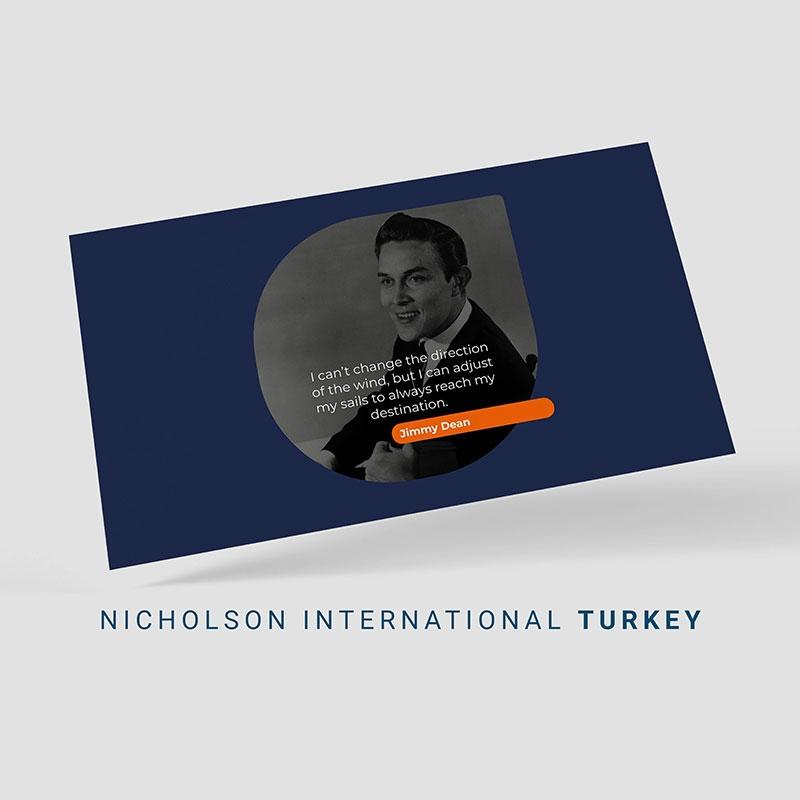 Nicholson International Sosyal Medya Yönetimi