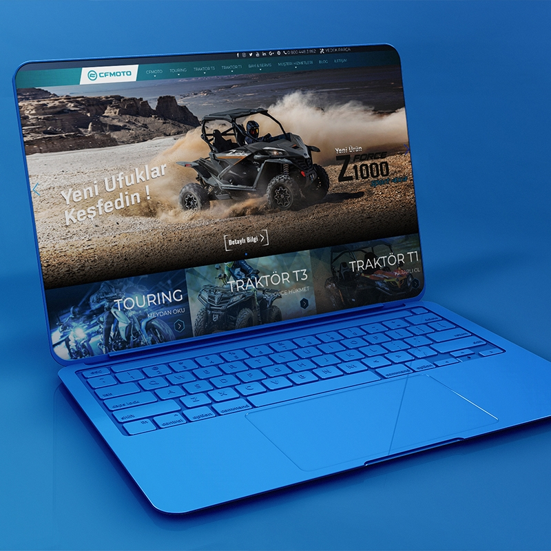 CF Moto Web Sitesi